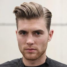 Combover Hairstyle For Men