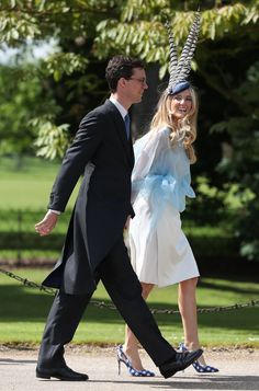 Donna Air joins worst-dressed guests at Pippa's wedding James Middleton, Middleton Family, Pippas Wedding, Wedding Hats, Wedding Ideas, Royal Wedding Pippa Middleton, Sarah Duchess Of York, Pippa And James, Wedding Honeymoons