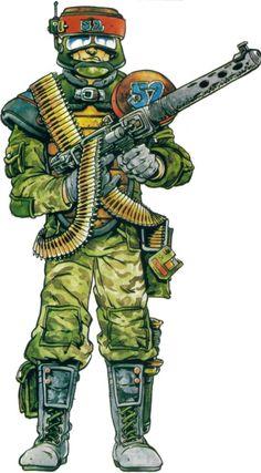 shadowrun; male; human; mercenary: