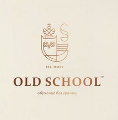 old school logo © Bashev Denis: