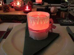 Christmas table decoration 2013
