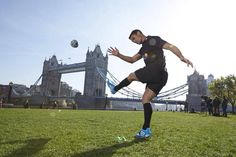 Awesome Dan Carter kick