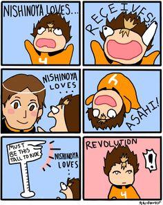 nishinoya yuu <3 this is hilarious XD