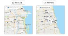 astuces airbnb Destinations, Destination Voyage, East Side, Chicago, River, Map, Best Life Hacks, Vacation, Travel