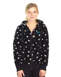 ZIMTSTERN STARRAIN FLEECE JACKE BLACK STAR www.fourseasonsclothing.de  #zimtstern #fleece #jacke #girls #new