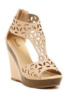 Bucco Lachance Wedge Sandal by Bucco on @HauteLook