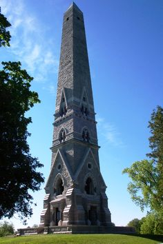 Saratoga Monument, Saratoga National Historical Park, near Saratoga Springs, New York - This 155-foot obelisk commemorates the American victory in the Battles of Saratoga in 1777.