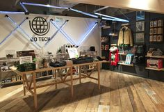 Music + Tech Pop-up Shop
