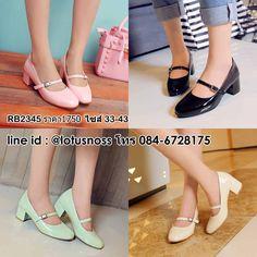 รองเท้าส้นสูงแฟชั่นเกาหลีนำเข้า 33-43 พรีออเดอร์RB2345 ราคา1750บาท โทร 086-3320788 LINE ID : @lotusnoss สั่งซื้อ www.lotusnoss.com Twitter :@lotusnoss #รองเท้าแฟชั่น #รองเท้าผู้หญิง #รองเท้าหนัง #รองเท้าหุ้มส้น #รองเท้าคัทชู รองเท้าสีดำ #รองเท้าส้นสูง #lotusnoss #lotusnossshop