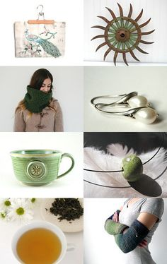 Green Tea by #aclhandweaver