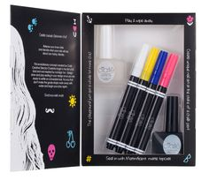 The Most Fun You'll Have Painting Your Nails - http://blog.womenshealthmag.com/beauty-style-buzz/ciate/ chalk-board nails!