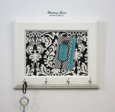 Hey, I found this really awesome Etsy listing at https://www.etsy.com/listing/179120950/key-holder-key-hook-memo-board