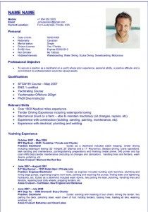 Deckhand Resume Sample 3 Resume Yacht How To Become