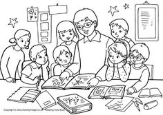 "Teacher Appreciation colouring pages to print. Why not get the kids to colour one of these in and then make a giant ""thank you teacher"" card by sticking it to a piece of folded constructoin paper? School Coloring Pages, Coloring Pages To Print, Colouring Pages, Coloring Pages For Kids, Coloring Sheets, Coloring Books, Kids Colouring, Adult Coloring, Teacher Appreciation Quotes"