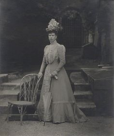 Queen Mary of the United Kingdom (when Duchess of York), 1897