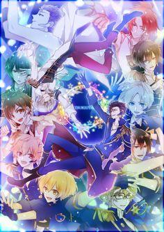 Six Gravity, Procellarum Hot Anime Boy, I Love Anime, All Anime, Manga Art, Anime Art, Mahouka Koukou No Rettousei, Tsukiuta The Animation, Boy Idols, Anime Japan