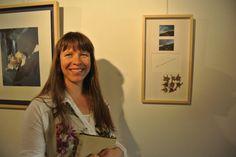 """Na exposición """"De lo natural a lo humano"""" na galería Iskoö en Lugo."""