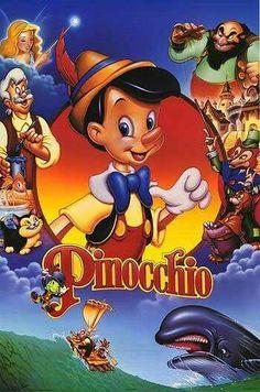 Walt Disney movie animation Pinocchio, Poster