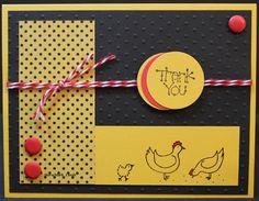 A fun 'chicken' card!