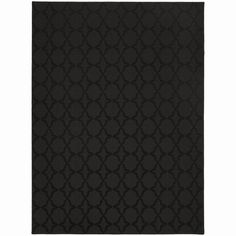 Somette Naples Black Area Rug (7'6 x 9'6) - Overstock™ Shopping - Great Deals on Somette 7x9 - 10x14 Rugs