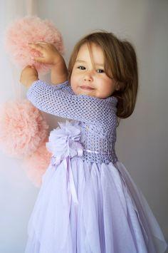 Girls Stretch Bolero. Crochet shrug for girls. Add matching