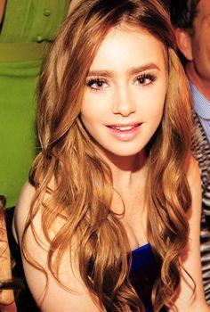 lily collins | wow. she's pretty