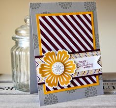UK Independent Stampin' Up! Demonstrator - Julie Kettlewell: Moonlight meets Mixed Bunch