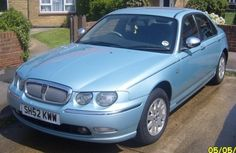 This was my wonderful, Rover 75  Diesel Auto . And I loved it to bits. This is the actual car I owned.