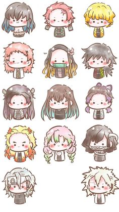 Dibujos Anime Chibi, Cute Anime Chibi, Kawaii Anime, Chibi Wallpaper, Cute Anime Wallpaper, Slayer Meme, Demon Slayer, Otaku Anime, Anime Warrior Girl