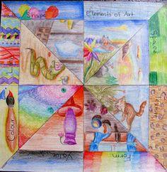 Ms. Eaton's Phileonia Artonian: Elements of Art Radial Review