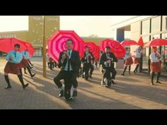 OK Go's Latest Music Video Features Hundreds of Umbrella-Wielding Dancers