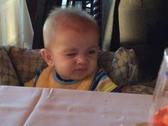 Aydins first taste of lemon
