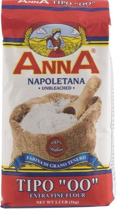 Anna Type Flour is an old world, authentic Naples style flour that is smooth, easy to work with, and made with less impurities for more even cooking. Flour Recipes, Baking Recipes, Best Flour For Pizza, Louisiana Fish Fry, Crispy Pizza, How To Peel Tomatoes, Cooking Photography, Spelt Flour
