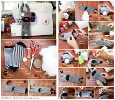 DIY chausettes/gants