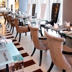 Restaurant Melrose Arch, Fire And Ice, Dining Chairs, Restaurant, Furniture, Home Decor, House, Decoration Home, Room Decor