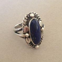 Gallery 925 - Georg Jensen Ring with Lapis Lazuli, no. 1