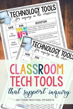 It's hard to stay with it when classroom technology constantly changes. Classroom tech tools that we use every day with our students change too! Click through to see the top five classroom tech tools you need to try right now in your classroom. Teaching Technology, Technology Tools, Technology Integration, Educational Technology, Futuristic Technology, Energy Technology, Technology Design, Medical Technology, Computer Technology