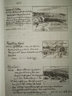 1934 Edward Hopper's Ledger -sketchbook
