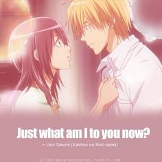 Maid Sama!! That moment when you realize Usui is just as confused as MisaChan