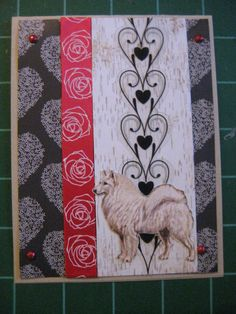 Interesting to realize that pomeranians (spitz) dogs were much larger at the turn of the last century. No teddybear faces, either. Custom Dog Card Set Your Favorite Breed Made to by scrappyrat, $12.75