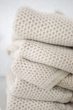 Winter White | Cozy throw blankets.