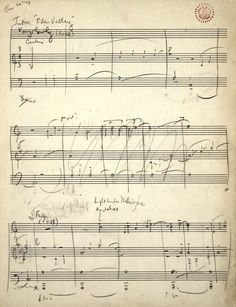 Leonard Bernstein's score. Gustav Mahler Symphony No. 1 ...