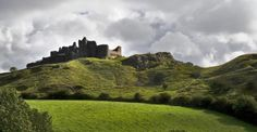 There are few castles in Wales - or Europe for that matter - which can boast a more spectacular location than Carreg Cennen. Its ruins crown a precipitous crag in a remote corner of the Brecon Beacons National Park.