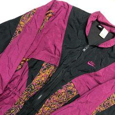 df0443af1a 1980s Vintage Colorful NIKE Windbreaker • Beautiful late - Depop Nike  Windbreaker