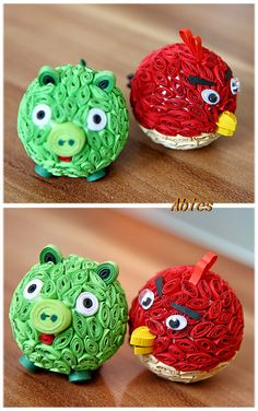 Angry Bird and Pig