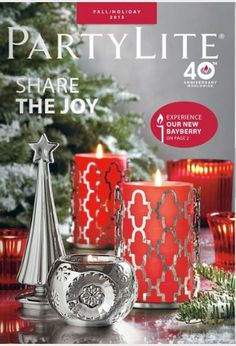 enter to catch on:  www.partylite.biz/rifermarbiz available on line starting July 28th