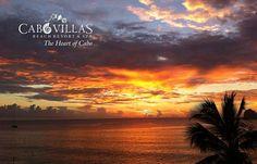 Jamás nos cansaremos de mirar fotografías del hermoso cielo de #LosCabos! Muchas gracias Cabo Villas Beach Resort por compartir! #AHLC