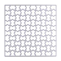 1pc 150mm Square Puzzle Metal Cutting Dies DIY Scrapbooking Die Cuts Stamp Photo Album Paper Craft Embossing Die Cut Stencil