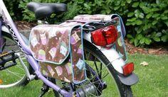 Tutoriel pour coudre des sacoches arrières de vélo
