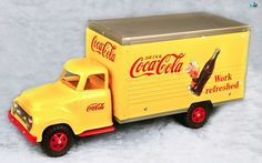 Awesome Restored Vintage 1950s Tonka & Nylint Coca-Cola Delivery Truck #TonkaandNylintCorporation